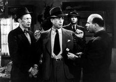 "Humphrey Bogart in Howard Hawks' production of Raymond Chandler's ""The Big Sleep""."