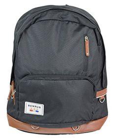 Benrus Infantry Backpack Black One Size * For more information, visit image link.