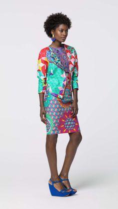 One-off style   Vlisco V-Inspired ~African fashion, Ankara, kitenge, African women dresses, African prints, African men's fashion, Nigerian style, Ghanaian fashion ~DKK