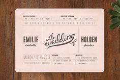 Have spent many an hour on Minted, thinking of invites. There are just so many I love.