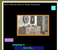 Rustic Bathroom Vanities Design Inspiration 093145 - The Best Image Search