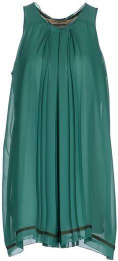 Coast,weber & Ahaus Green Short Dress