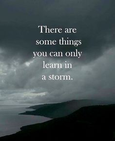 The most important lessons are often the worst to learn.