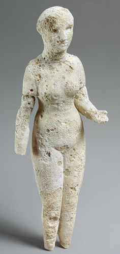 Standing woman, 2nd century b.c.–3rd century a.d.; Parthian period Possibly Ctesiphon, Mesopotamia Alabaster  H. 10 5/8 in. (27 cm) Purchase, Catharine Lorillard Wolfe Gift, 1886 (86.16.1) Not on view   Last Updated June 18, 2013