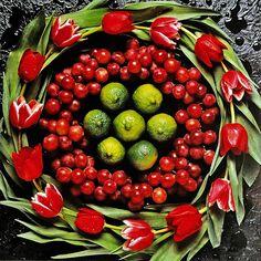 Guido Cecere (b.1947) — Calendar 'Fruits & Flowers', 2013 (800x800)