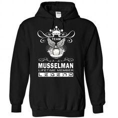 I Love (DaiBang001) Team MUSSELMAN LifeTime Member Shirts & Tees