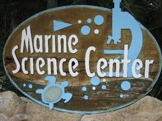 Entrance to the Marine Science Center in Daytona Beach Florida. I LOVE GOING HERE!!!! They rescue Sea Turtles and get them back to health. They also have many other types of animals.