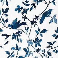 Clay McLaurin Studio Santiago_Indigo Wallpaper Santiago, Bungalow, Future House, Indigo, Indigo Dye