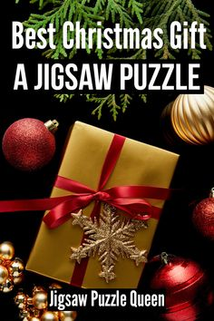 Jigsaw puzzles are just the best Christmas gift. Jigsaws just keep on giving! See the reasons why puzzles make for such great Christmas presents and get inspired which jigsaw puzzles to get for Christmas for your dear ones. #christmas #christmas2020 #jigsawpuzzles #christmasgift #jigsawpuzzlequeen
