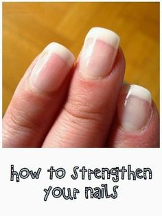 How to strengthen your nails | #beauty #nails