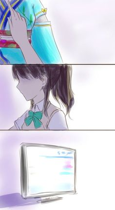 """> Love live artists drew images regarding about Nanjou and Muse (μ's). It's going to be tear-jerking, so be prepared for this upcoming trip of feels, """"feels trip posts"""". Knee Injury, Hope You, Muse, Feels, Posts, Draw, Artists, Anime, Messages"""