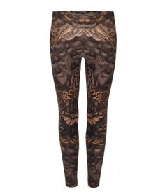 All Saints paradise leggings...very McQ x