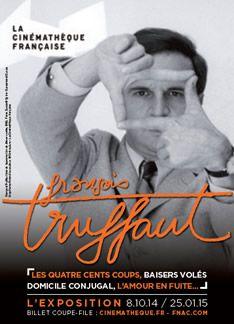 Exposition François Truffaut, l'univers du cinéaste à la Cinémathèque. Jusqu'au 25 janvier 2015