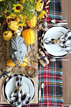 Harvest Table     Fall Tablescape      Autumn Decor      Outdoor Living