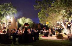 Outdoor Evening Wedding Receptions Ideas