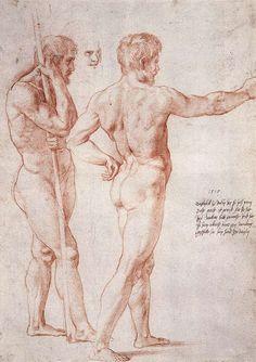 Nude Study - Raphael