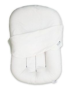 Snuggle Me Organic The Original Co-Sleeping Baby Bed, Infant Lounger, Portable Crib and Bassinet Mattress Pad for Newborn to 6 Months Co Sleeper Bed, Portable Crib, Baby Swag, First Time Moms, Baby Hacks, Organic Baby, Organic Cotton, Mom And Baby, Baby Sleep