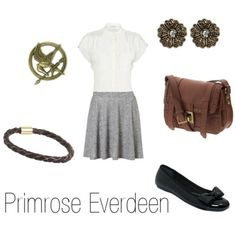 Primrose Everdeen Mockingjay Costume