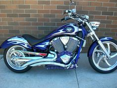 BEAUTIFUL 2004 Purple Victory Vegas Motorcycle. Perfect for a guy or gal!!! Check out our pre-owned list to see if it's available today! http://www.bairsinc.com/pre_owned_list.asp