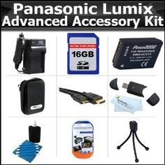 Click Here http://gadget-core.com/bestseller.php?p=B004BF92YU For Best Price and Cheap 16GB Accessory Kit For Panasonic Lumix DMC-ZS7 DMC-ZS10, DMC-ZS8, DMC-ZS9, DMC-3D1 DMC-ZS20, DMC-ZS15 Digital Camera Includes 16GB High Speed SD Memory Card + Case + Extended Replacement Panasonic DMW-BCG10 (1200 mAH) Battery + Charger + Mini HDMI Cable + (Electronics) Best Seller and Best Buy click image to review :D