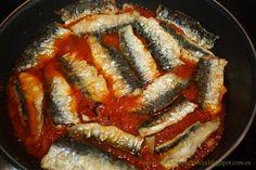 Receta del día: sardinas en salsa