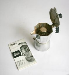 Bialetti Brikka Coffee Maker  2 Cups  With by DoubleRandC on Etsy #bialetti #brikka