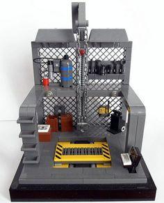 Mech Bay | by Gregory St Lego Mecha, Lego Robot, Lego Star Wars, Lego Space Station, Legos, Minifigures Lego, Technique Lego, Lego Factory, Lego Zombies