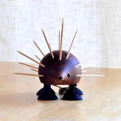 laurids lonborg toothpick holder - mid century danish modern. $110.00, via Etsy.