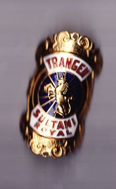 Vtg TRANGEN SULTANI ROYAL headbadge head badge bicycle cycling in Collectables | eBay