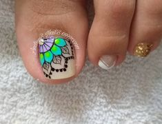 Visit the post for more. Pedicure Designs, Pedicure Nail Art, Toe Nail Designs, Manicure, Nail Polish Art, Toe Nail Art, Acrylic Nails, Pretty Toe Nails, Cute Toe Nails