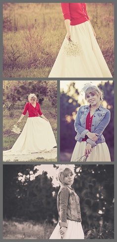Country Inspired Wedding #Bridal #country #cardigan