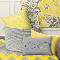 Gris y amarillo. Una de mis combinaciones preferidas