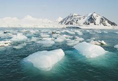Visit the Arctic, taking a luxury cruise through waters few humans have ever seen. Arctic Cruise, Greenland Ice Sheet, Arctic Landscape, Arctic Ice, Sea Ice, Global Warming, Climate Change, Ocean, Mountains