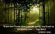 ✨ The MindCraft Company ✨ ✨Transformation & Growth ✨ #Quote - Loving life - #Quotes Yogi Berra