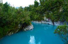 Hokitika Gorge River