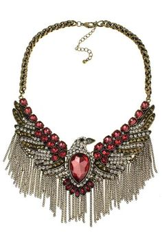 Shop Eagle&Tassels Pendant Neckalce at ROMWE, discover more fashion styles online. Eagle, Latest Street Fashion, Summer Essentials, Romwe, Tassels, Jewelery, Autumn Fashion, Bling, Pendant Necklace