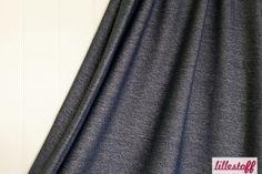 Lillestoff - Jeans Jersey in dunkelblau