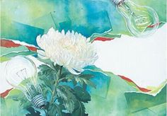 Color Of Life, Still Life, Watercolor, Drawings, Musashi, Illustration, Flowers, Painting, Design