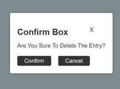Confirm JS is a customizable #jQuery #popup box plugin to create responsive, modal-style and well-designed confirm dialog boxes for getting confirmation before proceeding.