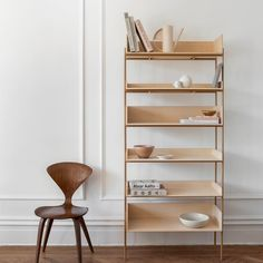 """OBJECTS BY CAMILLA VEST on Instagram: """"VIVLIO ____ shelving system design meets functionality keeping Objects showroom in best shape @skagerak_denmark @includedmiddle Photo…"""" Interior Styling, Interior Design, Shelf System, Danish Furniture, Scandinavian Home, Ladder Bookcase, Danish Design, Wood And Metal, Shelving"""
