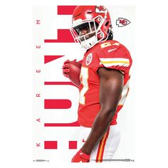 Kansas City Chiefs Kareem Hunt Unframed Wall Poster 77411aa46