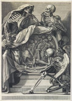 medieval etching | Inspirational Friday: Beautiful death ~ renaissance anatomy etchings