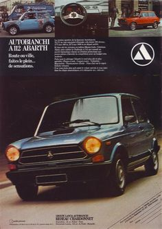 Rare in the USA: 1979 Autobianchi A112 Abarth