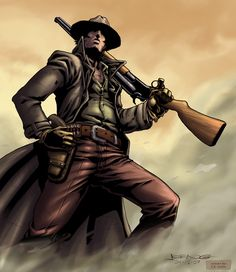western gunslinger photos | NgBoys Gunslinger by jkconlin