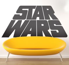 Are you the biggest Star Wars fan? Than get this decal for your home…