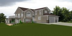 """two story house on basement  