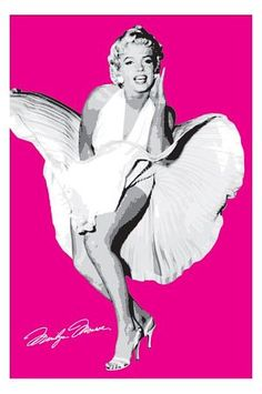 A great poster of Hollywood icon Marilyn Monroe! Pink is definitely her color. Check out the rest of our classy selection of Marilyn Monroe posters! Need Poster Mounts. Marilyn Monroe Pop Art, Marilyn Monroe Photos, Pop Art Posters, Poster Prints, Artist Wall, Art Paintings For Sale, Pop Art Portraits, Hollywood Icons, Norma Jeane