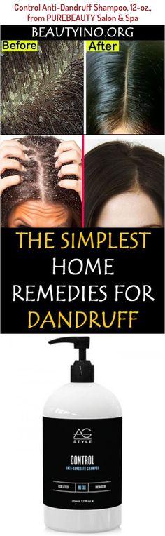 Ag Hair Control Anti-Dandruff Shampoo, 12-oz., from Purebeauty Salon & Spa Cold Remedies Fast, Home Remedies For Dandruff, Hair Remedies, Ag Hair Products, Anti Dandruff Shampoo, Salons, Spa, Lounges