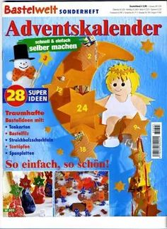 Fotka: Christmas Diy, Christmas Decorations, Free Magazines, Kirigami, Paper Cutting, Quilling, Advent Calendar, Paper Crafts, Painting