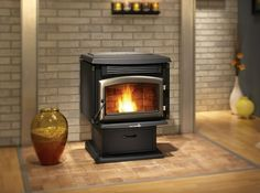 Enerzone BIO-45 Pellet Stove - an efficient and eco-friendly heating power house.